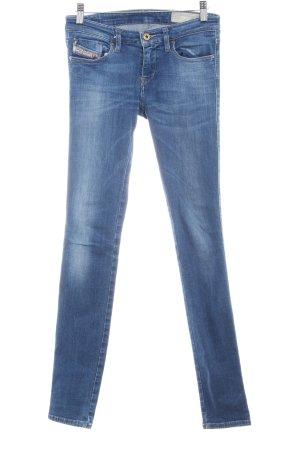 Diesel Röhrenjeans kornblumenblau Jeans-Optik
