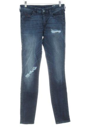 Diesel Röhrenjeans mehrfarbig Jeans-Optik