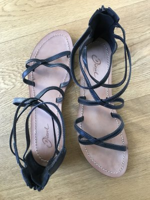 Diesel Roman Sandals dark blue