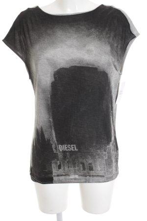 Diesel Rückenfreie Top Motivdruck Street-Fashion-Look