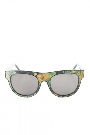Diesel Round Sunglasses floral pattern casual look