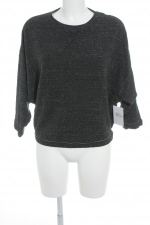 Diesel Crewneck Sweater taupe-natural white flecked casual look
