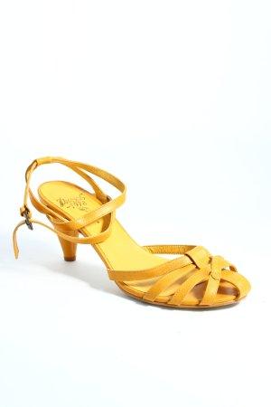 Diesel Sandalen dunkelgelb klassischer Stil