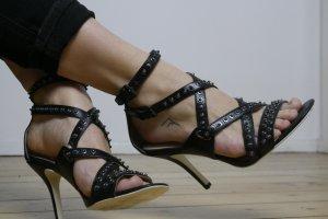 Diesel High Heel Sandal multicolored leather