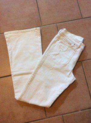 Diesel Boot Cut Jeans white