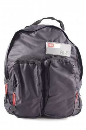 Diesel School Backpack black simple style