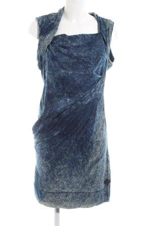 Diesel Off-The-Shoulder Dress blue elegant