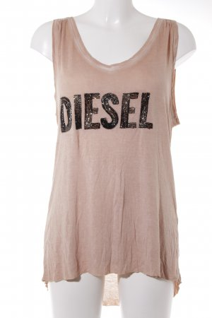 Diesel Off the shoulder top veelkleurig casual uitstraling