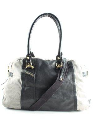 Diesel Shoulder Bag light grey-dark brown casual look