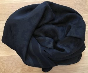 Diesel Zijden doek zwart-grijs-bruin Zijde