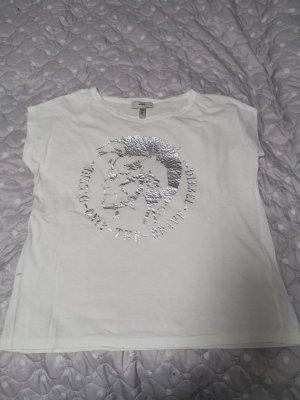 Diesel Camicia fantasia bianco