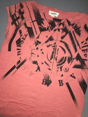 Diesel T-shirt saumon-abricot