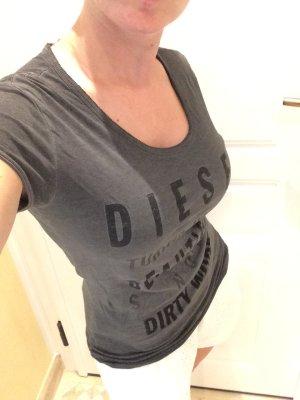 Diesel Shirt grau und hot