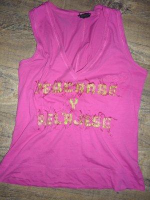 DIESEL Shirt pink Hippie Gr 38 Top