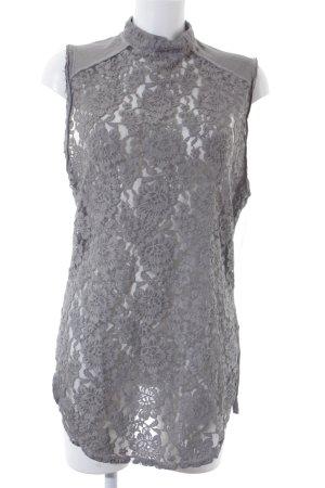 Diesel Shirtkleid grau Casual-Look