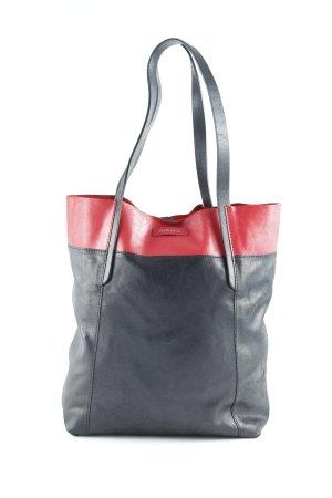 Diesel Shopper black-red metallic look