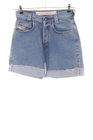 Diesel Shorts blau Casual-Look