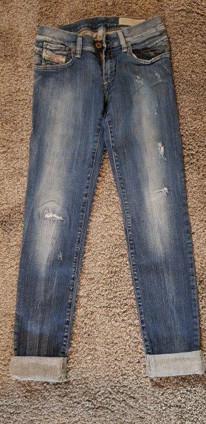 Diesel Jeans skinny blu Cotone