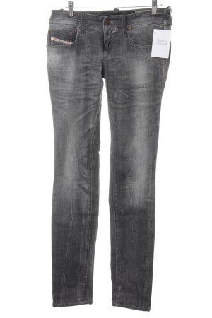 Diesel Skinny Jeans anthrazit Casual-Look