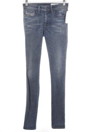 Diesel Skinny Jeans blau-graublau Casual-Look