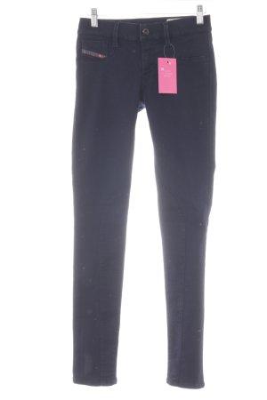 Diesel Skinny Jeans dunkelblau Casual-Look