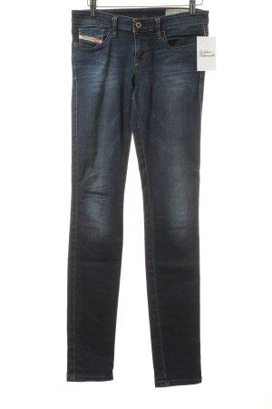 Diesel Skinny Jeans dunkelblau schlichter Stil