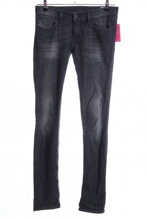 Diesel Skinny Jeans schwarz Casual-Look