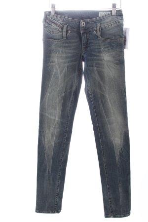 Diesel Skinny Jeans graublau-blau Casual-Look