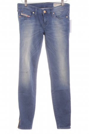 Diesel Skinny Jeans himmelblau-blau schlichter Stil