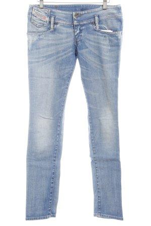 Diesel Skinny Jeans kornblumenblau Casual-Look