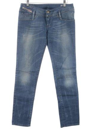 """Diesel Skinny Jeans """"Matic"""" stahlblau"""