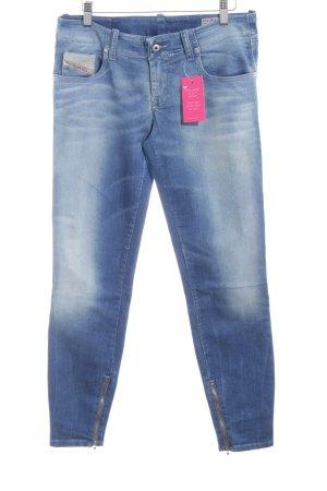 Diesel Skinny Jeans mehrfarbig schlichter Stil