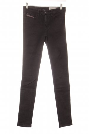 Diesel Skinny Jeans schwarz Street-Fashion-Look