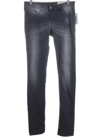 Diesel Skinny Jeans black street-fashion look