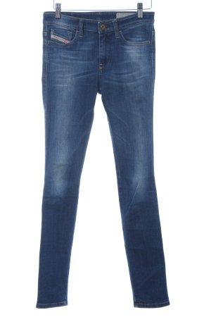 Diesel Skinny Jeans stahlblau Casual-Look