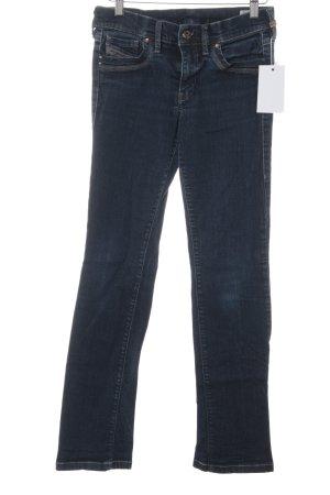 Diesel Skinny Jeans stahlblau-dunkelblau Casual-Look