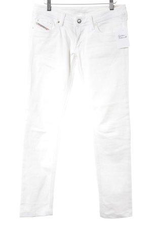 Diesel Skinny Jeans white casual look