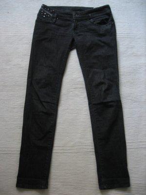 diesel skinny roehren jeans grau topzustand gr. 28 s 36