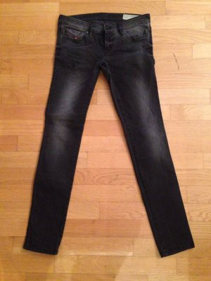 Diesel Jeans skinny antracite-grigio scuro