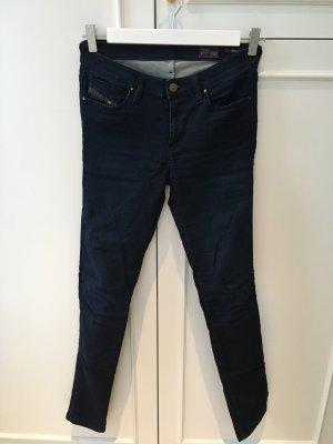 Diesel Skinzee Jeans, neu, dunkelblau, Größe 28