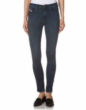 Diesel Skinzee Jeans - slimfit- dunkelblau - W27L30 - stretch - super slim-skinny - high waist - sehr guter Zustand