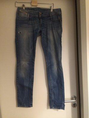 Diesel Slim Fit Jeans in used Optik