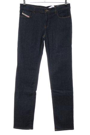 Diesel Jeans slim noir style décontracté