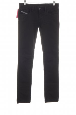 Diesel Slim Jeans black jeans look