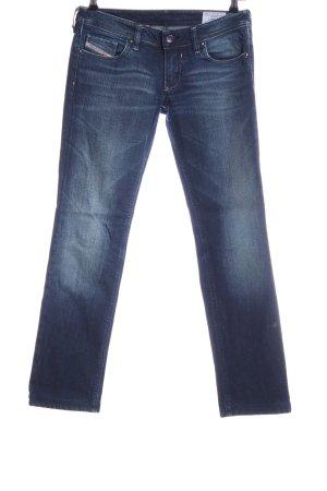 Diesel Slim Jeans blau Business-Look