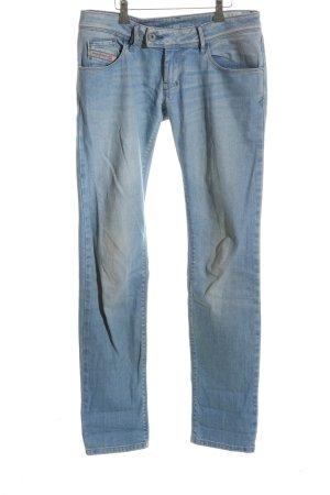 Diesel Slim jeans blauw casual uitstraling
