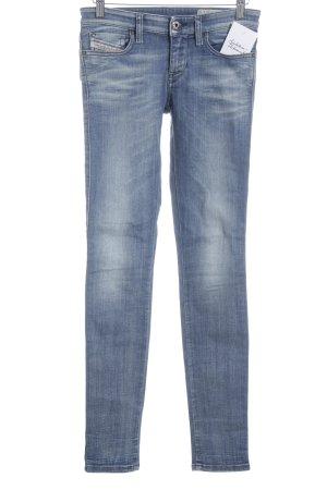 Diesel Slim Jeans blau Street-Fashion-Look