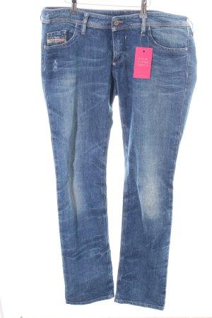 Diesel Jeans slim bleu style décontracté
