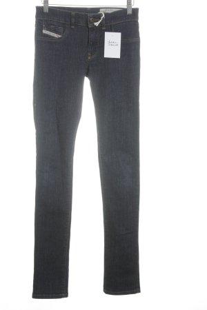 Diesel Slim jeans donkerblauw casual uitstraling