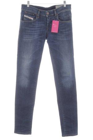 Diesel Jeans slim fit blu scuro stile jeans
